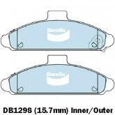 Bendix  Disc Brake Pad - DB1298 AD
