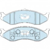 Bendix  Disc Brake Pad - DB1311 4WD