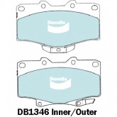 Bendix  Disc Brake Pad - DB1346 4WD