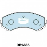 Bendix  Disc Brake Pad - DB1385 HD